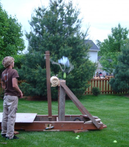 Replica Onager Catapult (2010)
