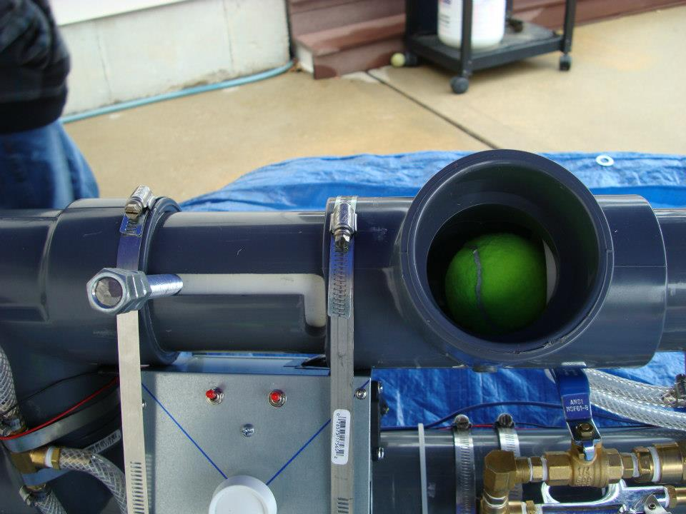how to make a propane noise cannon