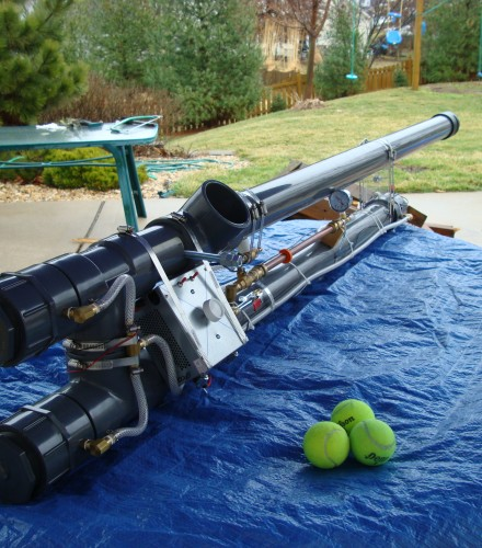 Propane Tennis Ball Cannon (2011)