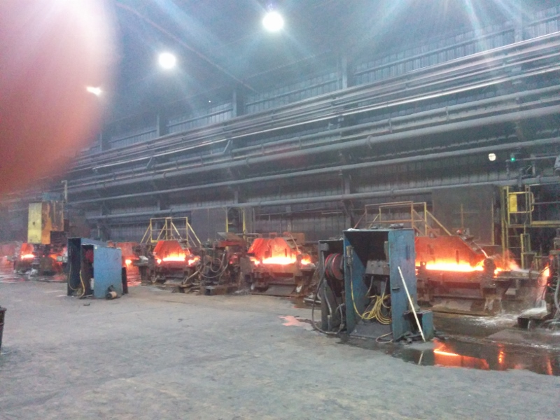 Nucor Steel Internship (Summer 2014)